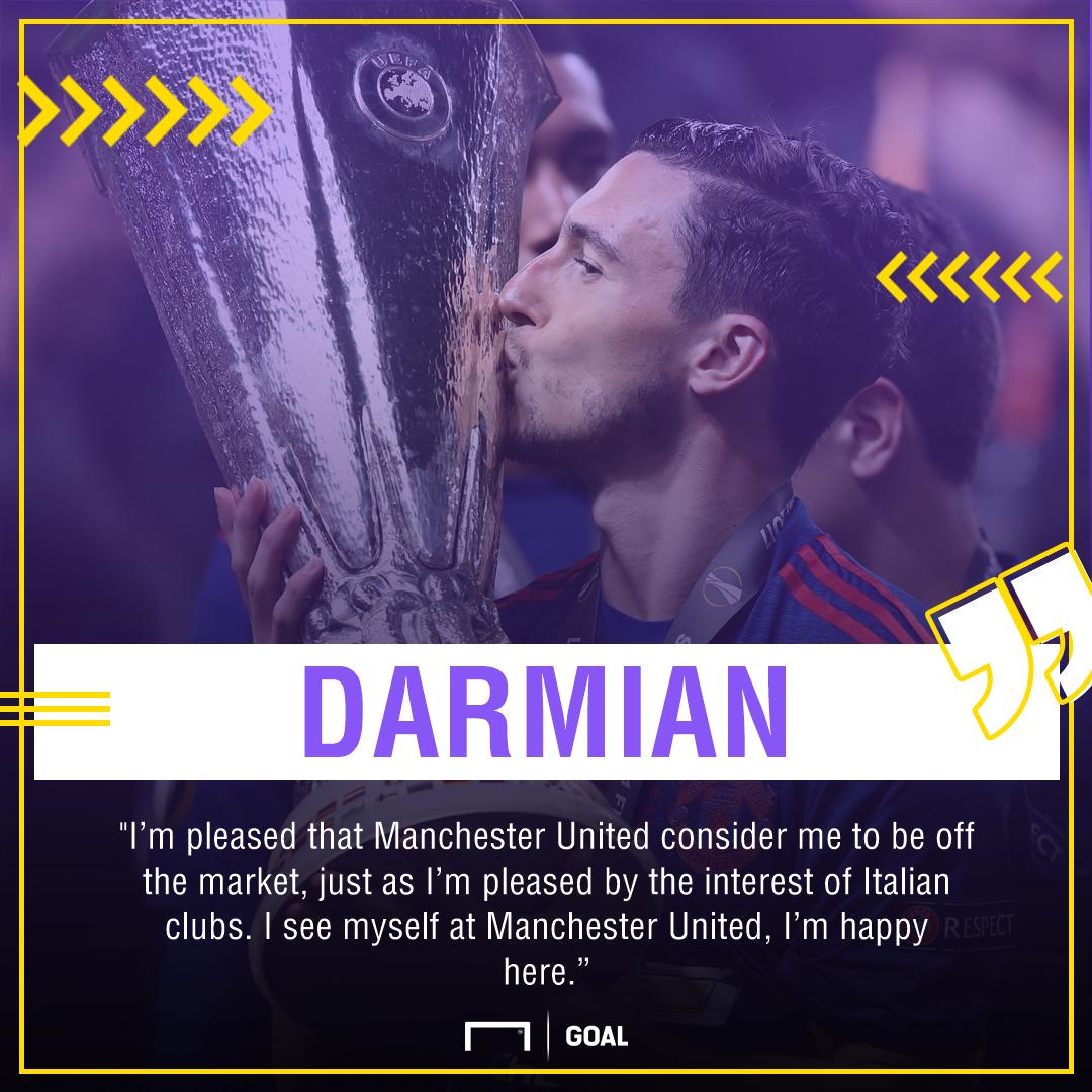 Matteo Darmian Manchester United future