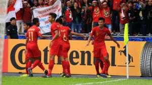 Selebrasi Sutan Zico Indonesia U-16 vs Australia U-16 AFC U-16