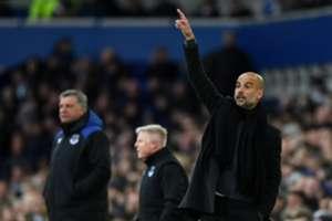Big Sam Pep Guardiola Everton Manchester City