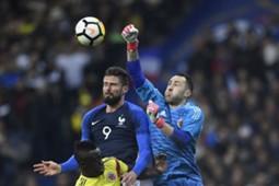 David Ospina Colombia - Francia 2018