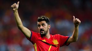 David Villa Spain 2017
