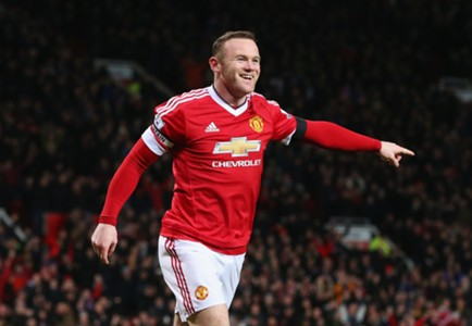 Wayne Rooney, Soccerway Competition