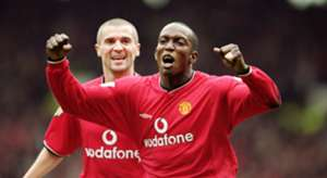 Dwight Yorke Roy Keane Manchester United