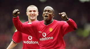 Dwight Yorke Roy Keane Manchester United