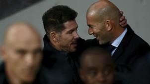 Simeone Zidane Atletico Madrid Real Madrid LaLiga