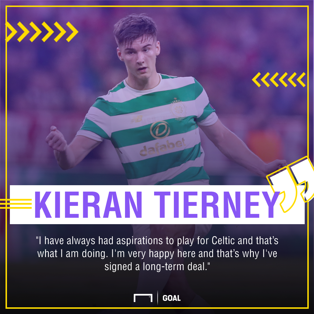 Kieran Tierney Celtic future