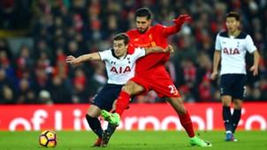 Harry Winks Tottenham Emre Can Liverpool Premier League