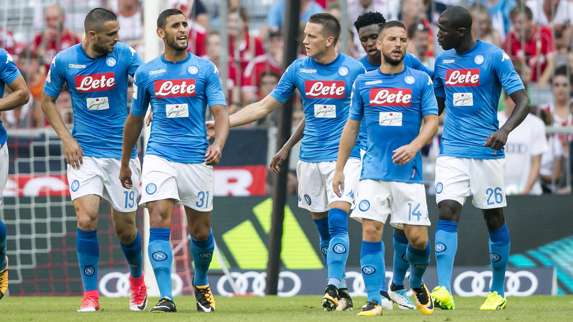 L'Espanyol omaggia il Napoli: