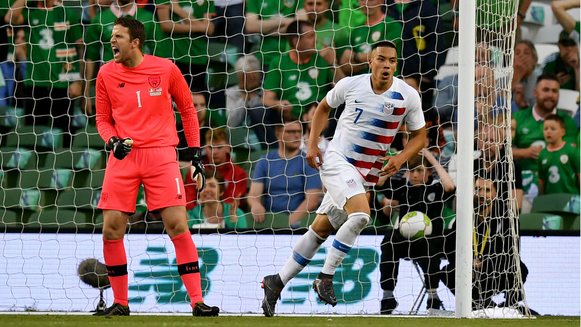 Bobby Wood USA Ireland International friendly 2018