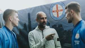 Pep Guardiola Melbourne City