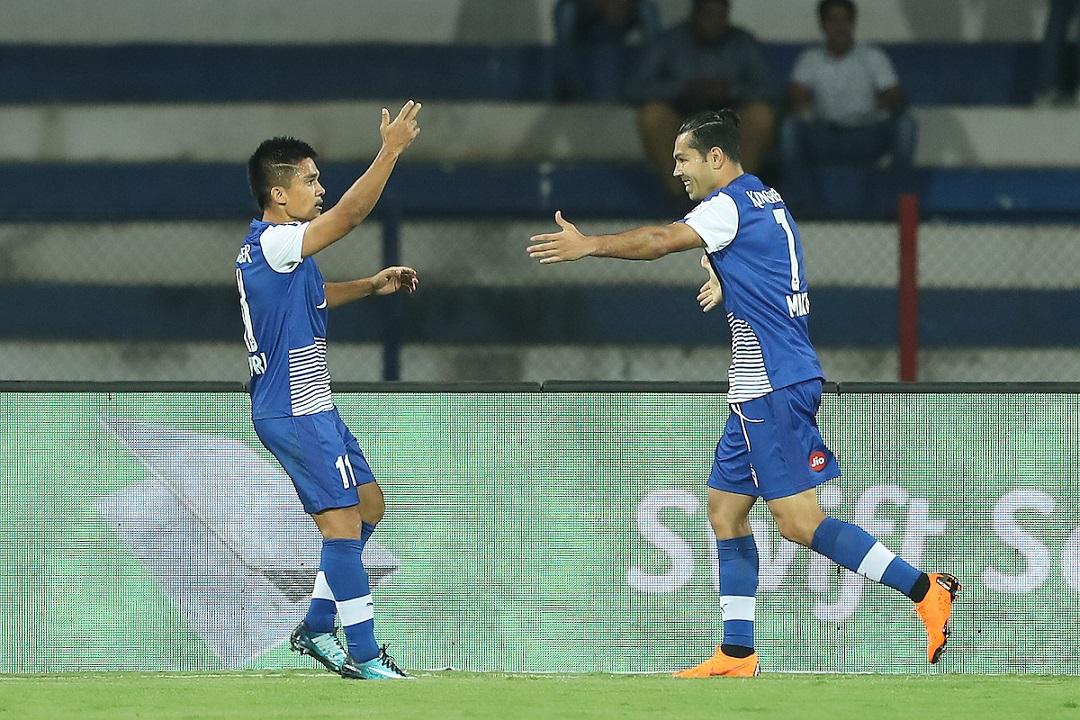 Sunil Chhetri Miku Bengaluru FC
