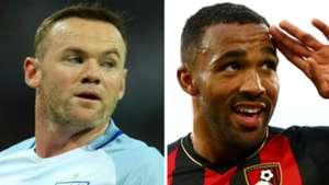 Wayne Rooney Callum Wilson England GFX
