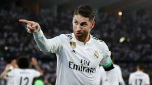 Sergio Ramos Real Madrid vs Al Ain Club World Cup 2018