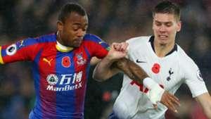 Jordan Ayew Juan Foyth Crystal Palace Tottenham