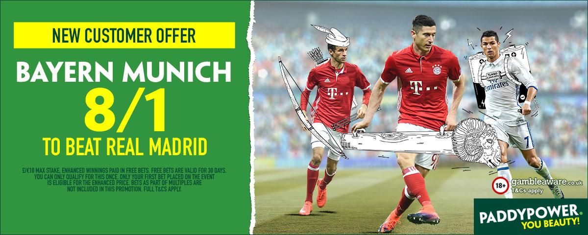 GFX Real Madrid Bayern Munich enhanced betting