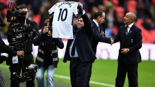 Diego Maradona Tottenham Liverpool