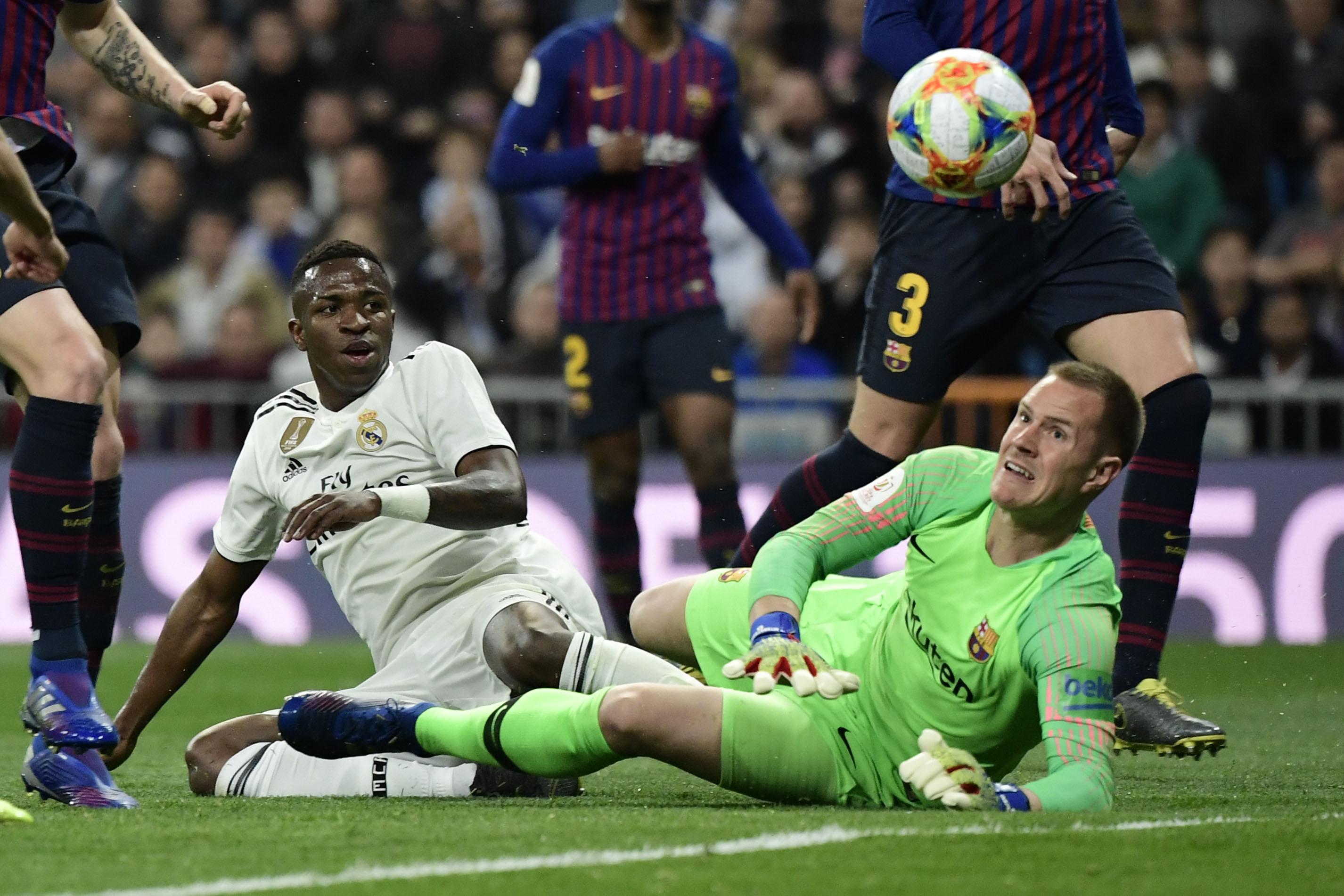 Vinicius Ter Stegen Real Madrid Barcelona Copa del Rey 27022019