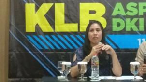 Vivin Cahyani Sungkono plt ketua umum Asprov PSSI DKI Jakarta