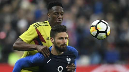 Olivier Giroud France Colombia