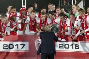 Jong Ajax kampioen Jupiler League