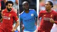 Mohamed Salah Raheem Sterling Virgil van Dijk Split 2019-20