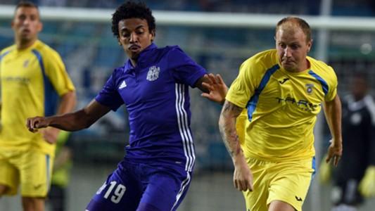 Senijad Ibricic Luiz Gustavo Domzale Marseille UEFA Europa League 17082017