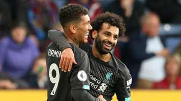 Roberto Firmino Mohamed Salah Liverpool 2019-20