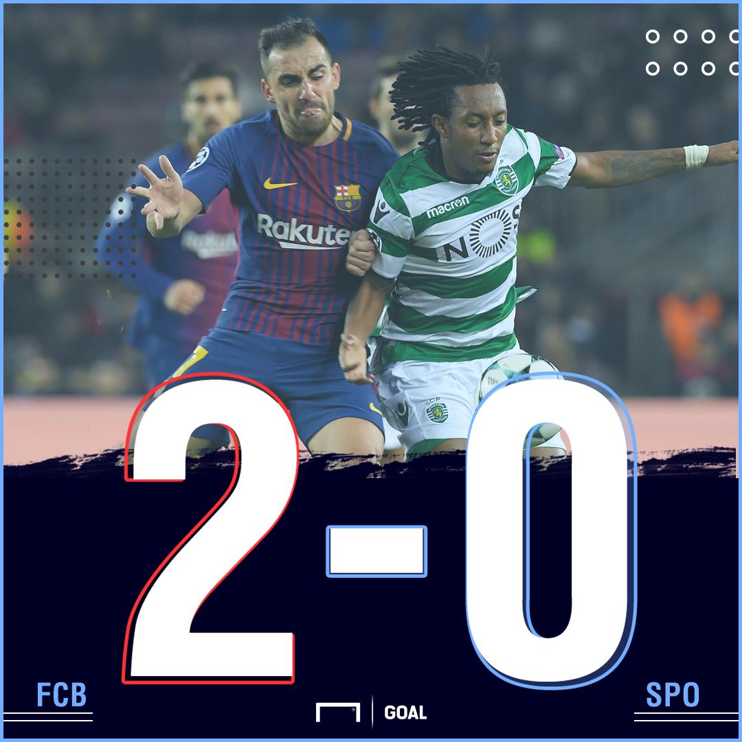 Barcelona Sporting score