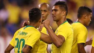 Fabinho Casemiro USA Brazil Friendly 07092018