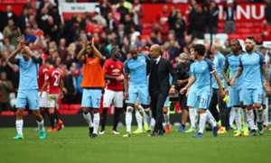 Manchester United Manchester City Fernando Reges Pep Guardiola 09/10/16