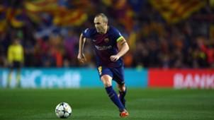 Andres Iniesta Barca Chelsea 14032018