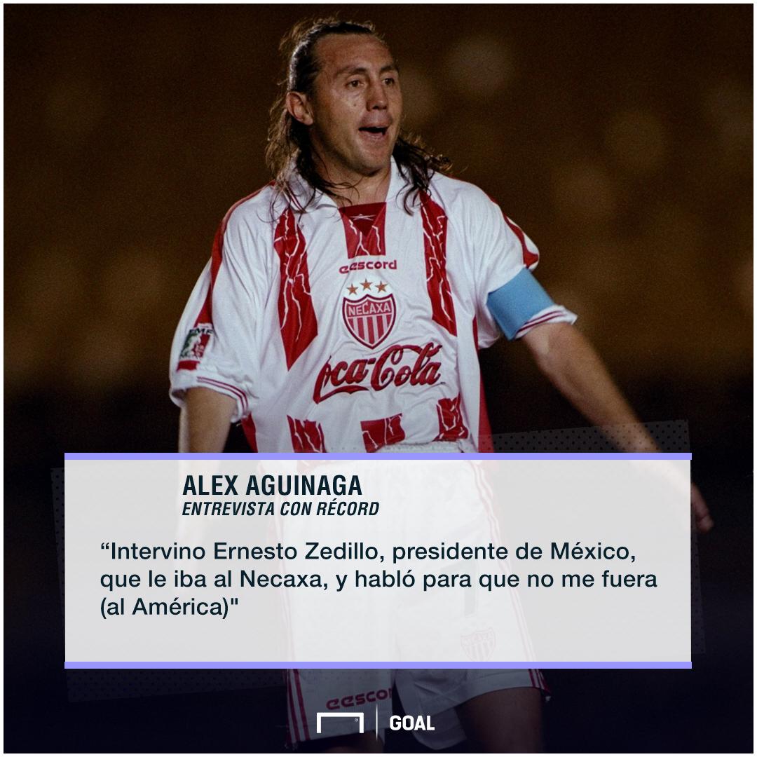 Alex Aguinaga, La Contratación Imposible Que Ernesto