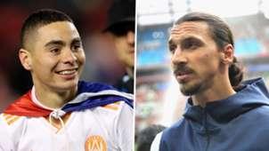 MLS Best XI split