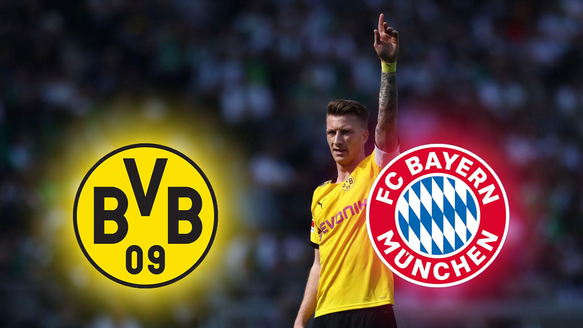Dortmund Bayern Anpfiff