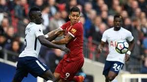 Roberto Firmino Liverpool Tottenham Premier League