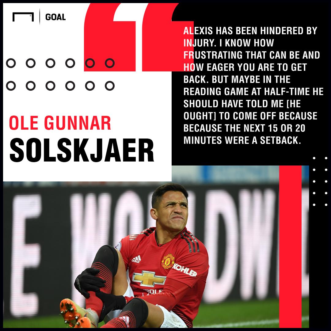 Alexis Sanchez Solskjaer Manchester United PS