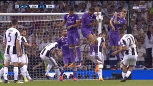 Mano de Crisiano Ronaldo
