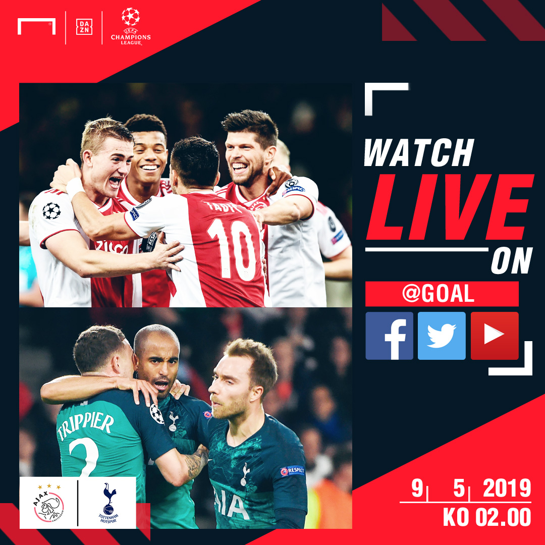UEFA Champions League: How To Watch Live Streaming Of Ajax