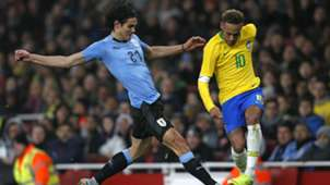 Cavani Neymar Brazil Uruguay Friendlies 16112018