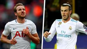 Harry Kane Gareth Bale 2017 Split