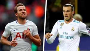 Harry Kane Gareth Bale 2017 Split