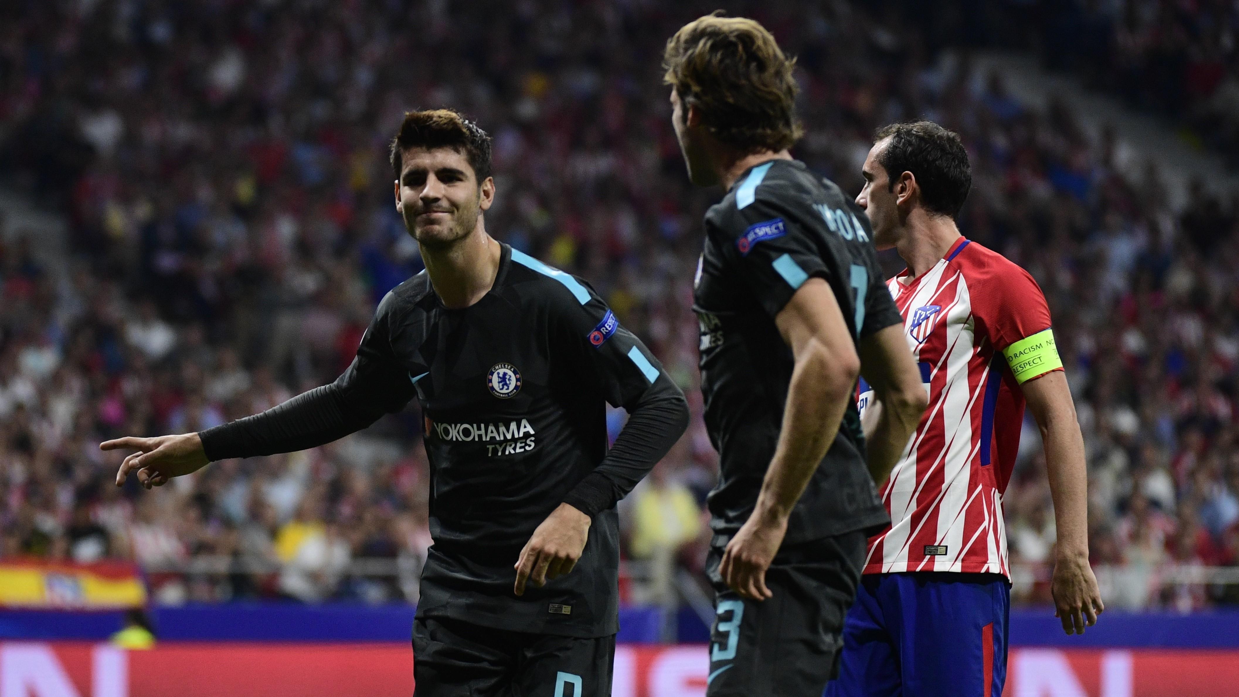 Alvaro Morata Atletico de Madrid Chelsea UCL 27092017