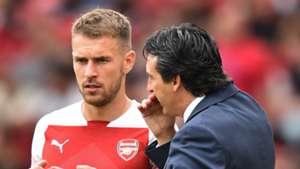 Aaron Ramsey Unai Emery Arsenal 2018-19