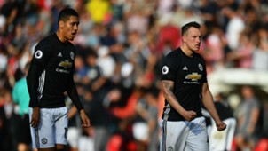 Chris Smalling Phil Jones Manchester United