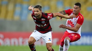 Jeison Gordillo Diego Flamengo Santa Fe 18042018 Copa Libertadores