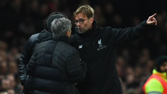 Klopp and Liverpool have Mourinho's Man Utd in their sights