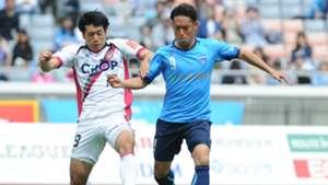 横浜FC対ファジアーノ岡山