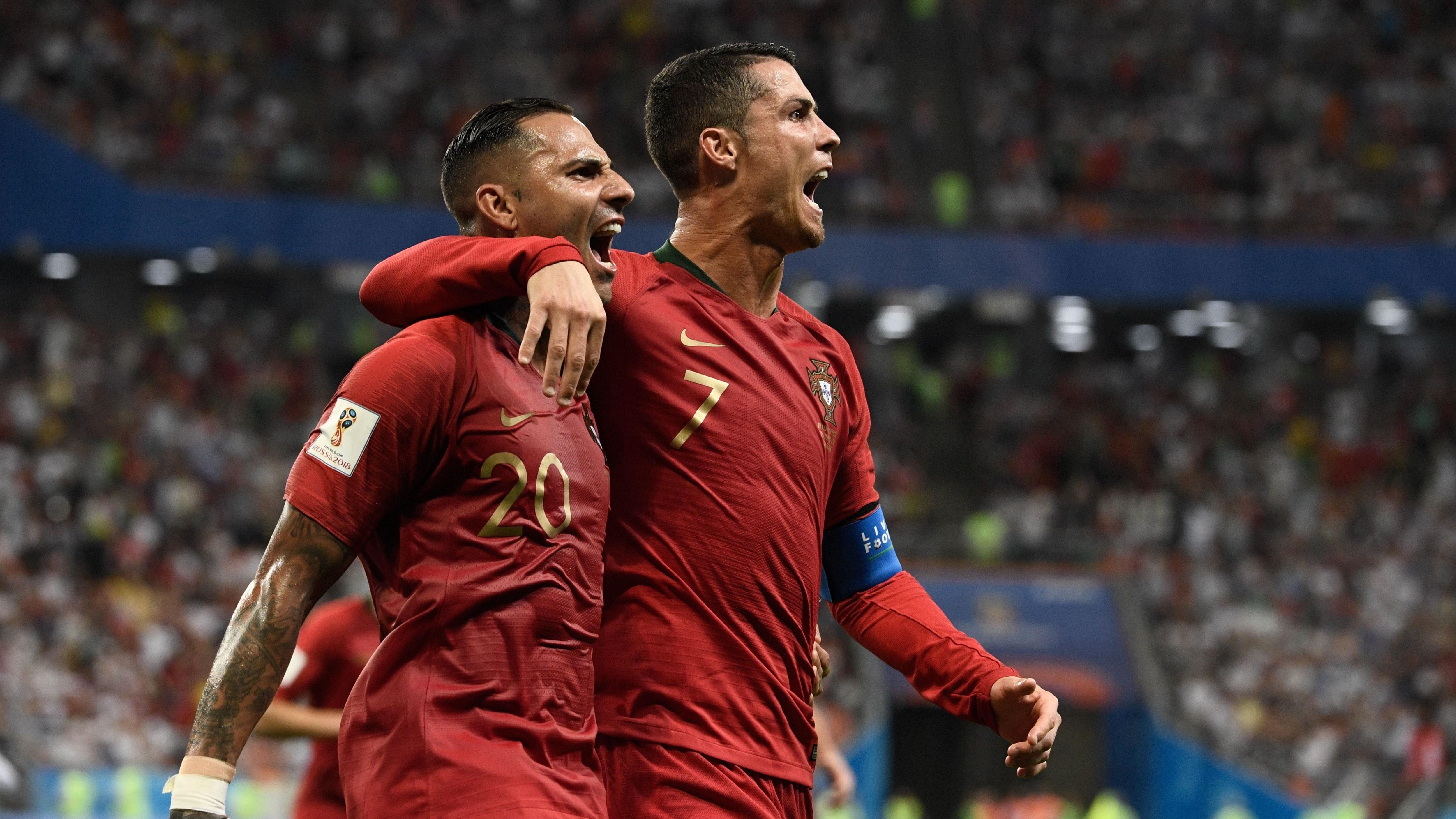 Ricardo Quaresma Cristiano Ronaldo Iran Portugal Spain Morocco España Marruecos 25062018