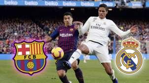 GFX Barcelona Real Madrid 2019