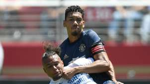Chris Smalling Manchester United San Jose Earthquakes 220718